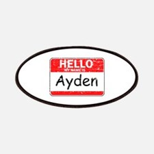 Hello My name is Ayden Patches