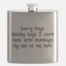 Sorry boys daddy says I cant date Flask