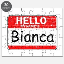 Hello My name is Bianca Puzzle