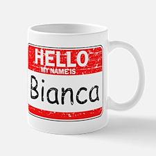 Hello My name is Bianca Mug