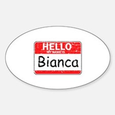 Hello My name is Bianca Decal