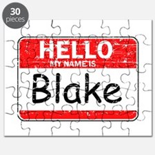 Hello My name is Blake Puzzle