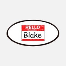 Hello My name is Blake Patches