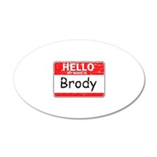Hello My name is Brody Wall Decal