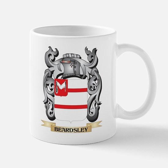 Beardsley Family Crest - Beardsley Coat of Ar Mugs