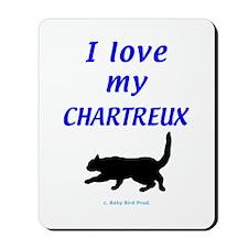 Chartreux Cats Mousepad