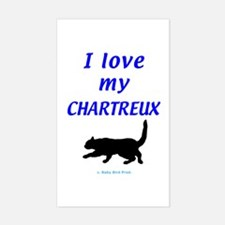 Chartreux Cats Decal