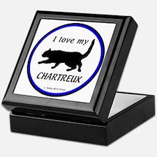 Chartreux Cats Keepsake Box