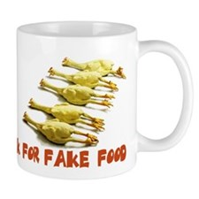 Actress Fake Food Mug