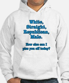 White Straight Republican Male Jumper Hoody