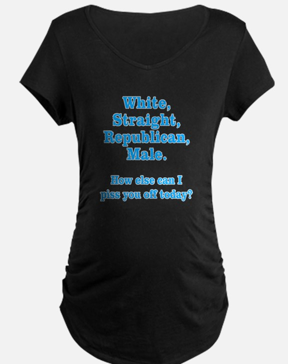 White Straight Republican Male T-Shirt