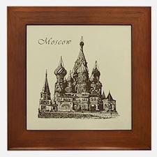 Retro Moscow Framed Tile