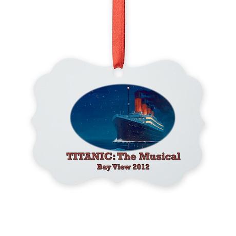 BVMF Titanic Picture Ornament
