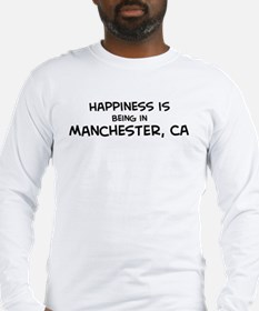 Manchester - Happiness Long Sleeve T-Shirt