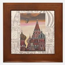 Saint Basil's Cathedral Framed Tile