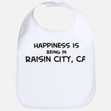 Raisin City - Happiness Bib