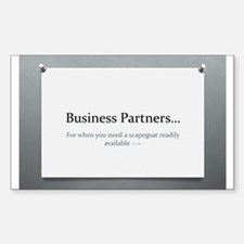 Business Partners Decal