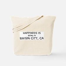 Raisin City - Happiness Tote Bag