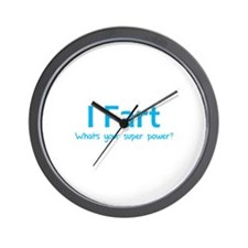 I Fart - What's your super power? Wall Clock