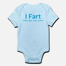 I Fart - What's your super power? Onesie