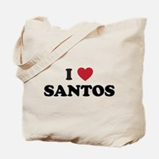 I Love Santos Tote Bag