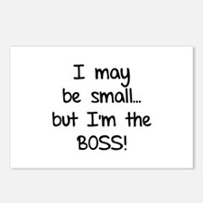 I may be small... but I'm the boss! Postcards (Pac