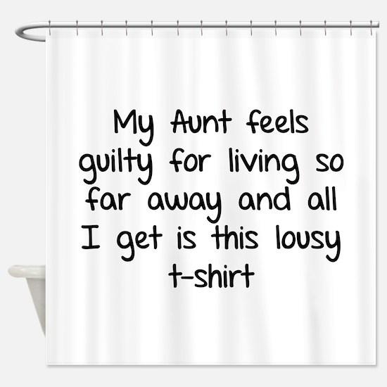 My aunt feels guilty for living so far away Shower