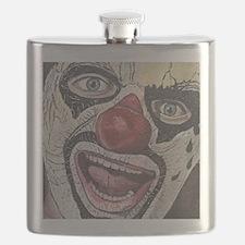Gothic Clown Flask