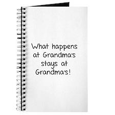 What happens at Grandma's stays at Grandma's! Jour