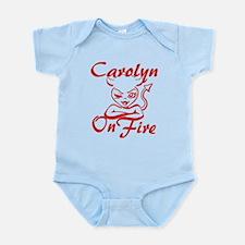 Carolyn On Fire Infant Bodysuit