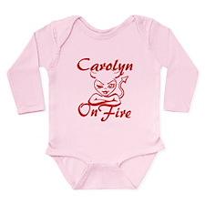 Carolyn On Fire Long Sleeve Infant Bodysuit