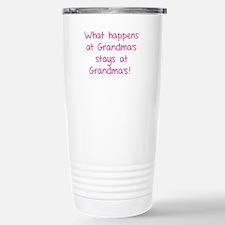 What happens at Grandma's stays at Grandma's! Cera