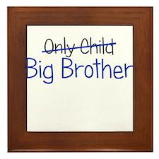 Big Brother Funny Framed Tile