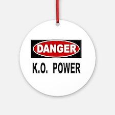 K.O. Power Ornament (Round)