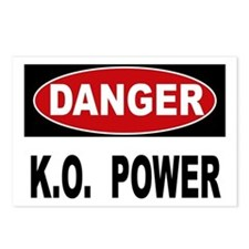 K.O. Power Postcards (Package of 8)