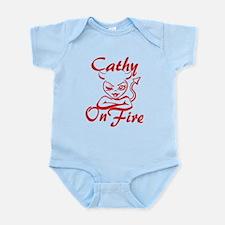 Cathy On Fire Infant Bodysuit