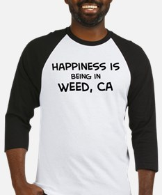 Weed - Happiness Baseball Jersey