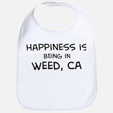 Weed - Happiness Bib