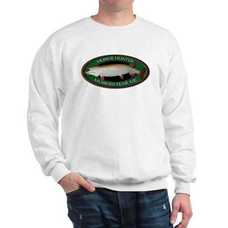 Muskies Fear Me Sweatshirt