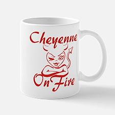 Cheyenne On Fire Mug