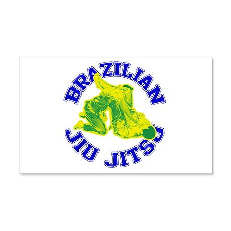 Brazilian Jiu-jitsu 20x12 Wall Decal