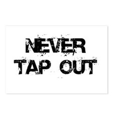 Never Tap out Postcards (Package of 8)