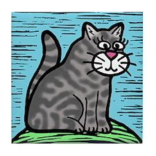 Holly's Kittys Tile Coaster