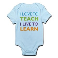 Love to Teach Live to Learn Infant Bodysuit