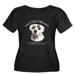 Man's Best Friend Women's Plus Size Scoop Neck Dar