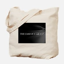The Cake Is A Lie!! Tote Bag