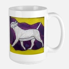 Bully in Motion Large Mug