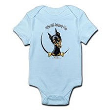 Miniature Pinscher IAAM Infant Bodysuit