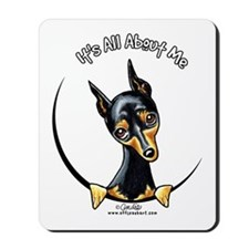 Miniature Pinscher IAAM Mousepad
