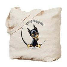 Miniature Pinscher IAAM Tote Bag